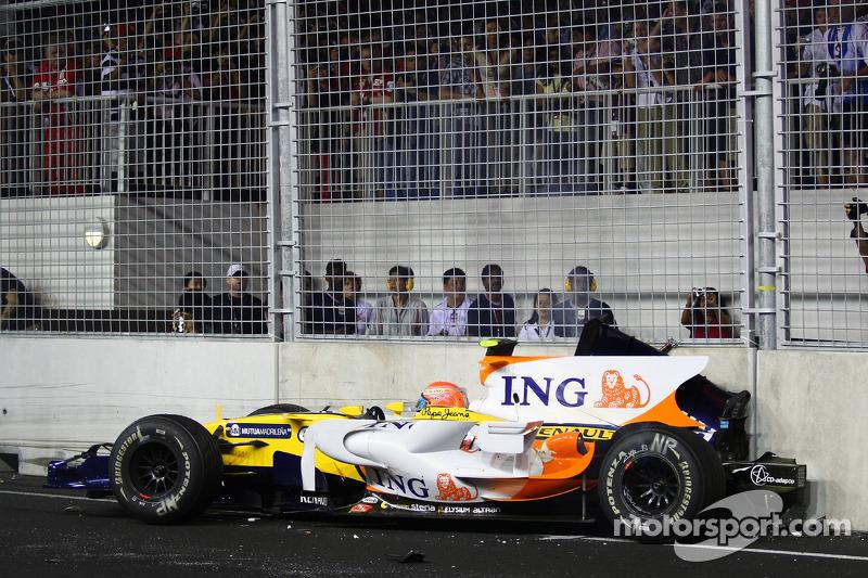 Nelson Piquet Jr.: Grand Prix von Singapur 2008 in Singapur