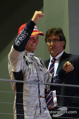 Podio: segundo lugar Nico Rosberg