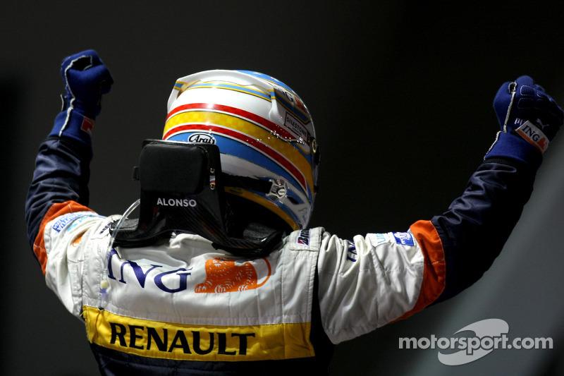 Sieger Fernando Alonso, Renault F1 Team