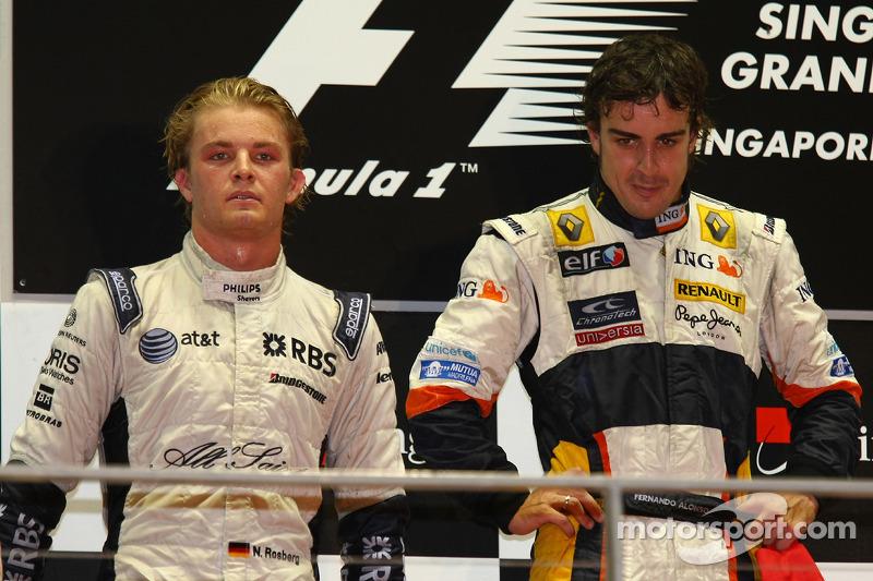 Singapur 2008: Erstmals Platz 2