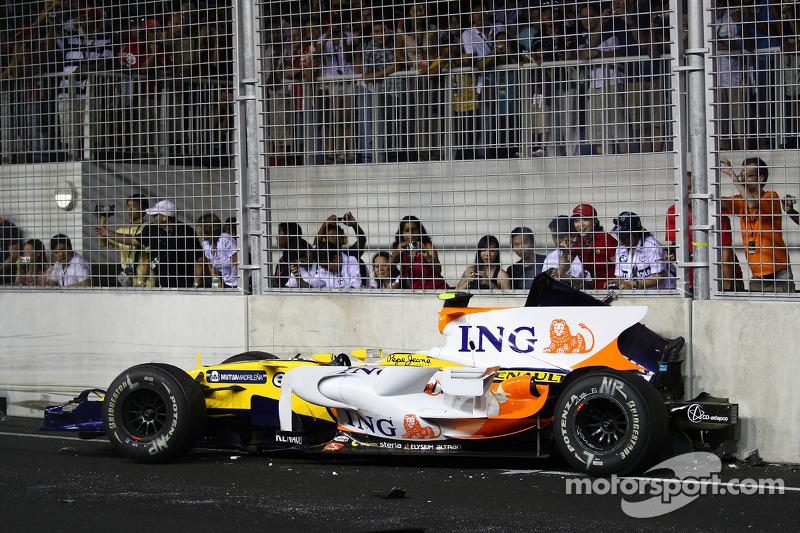 Pasa las imágenes y recuerda el accidente de Nelsinho Piquet