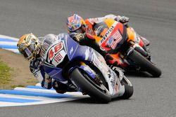 Jorge Lorenzo and Nicky Hayden