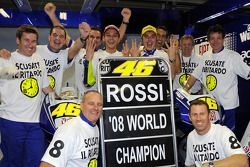MotoGP-Weltmeister 2008: Valentino Rossi, Yamaha Factory Racing