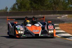 #30 Intersport Racing Lola B07/17 Judd: Ryan Lewis, John Faulkner, Georges Forgeois
