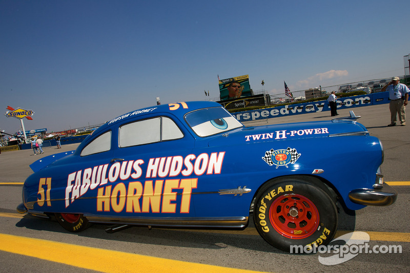 Hudson Hornet Quot Doc Hudson Quot From The Movie Cars On Display
