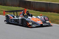 #30 Intersport Racing Lola B06 10 Judd: Ryan Lewis, John Faulkner
