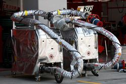 Scuderia Ferrari plates-formes de carburant