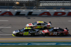 Jimmie Johnson, Greg Biffle and Carl Edwards