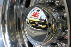 Wheel detail of a hauler