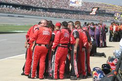 Office Depot Ford crew members after National Anthem