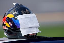 Helmet of Brian Vickers