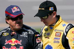 Mike Skinner and Kyle Busch