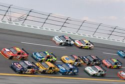 Brian Vickers and Elliott Sadler lead the field