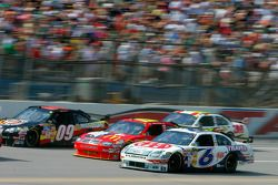 David Ragan, Elliott Sadler and Sterling Marlin