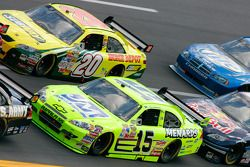 Paul Menard and Tony Stewart
