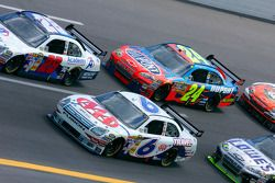David Ragan, Travis Kvapil and Jeff Gordon