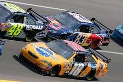 Kyle Busch and Brian Vickers
