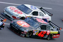 Juan Pablo Montoya and David Ragan