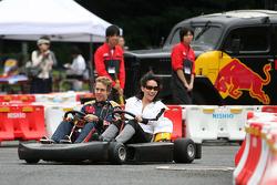 Kart Race in Jingu Gaien, Sebastian Vettel, Scuderia Toro Rosso