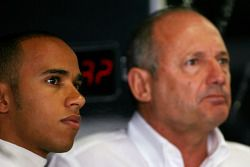Lewis Hamilton, McLaren Mercedes, Ron Dennis, Presidente de McLaren y director del equipo