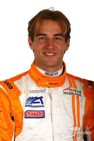 Jeroen Bleekemolen, driver of A1 Team Netherlands