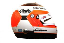 Jeroen Bleekemolen, driver of A1 Team Netherlands helmet