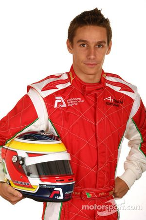 Filipe Albuquerque, driver of A1 Team Portugal