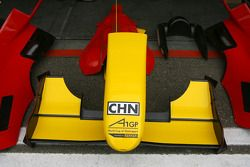 Wing and aerodynamic parts of A1 Team China