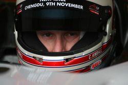 Charlie Kimball, driver of A1 Team USA
