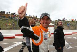Jeroen Bleekemolen, driver of A1 Team Netherlands gets pole position