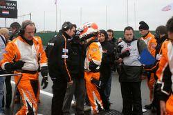 Jeroen Bleekemolen, driver of A1 Team Netherlands on the grid