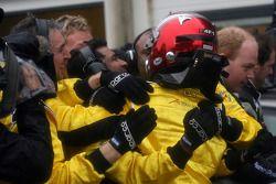 Fairuz Fauzy, driver of A1 Team Malaysia winner of the sprint race