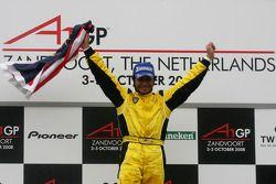 Fairuz Fauzy, driver of A1 Team Malaysia, Winner of the sprint race