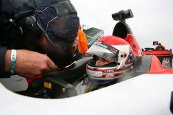 Charlie Kimball, driver of A1 Team USA on the grid