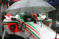 Fabio Onidi , driver of A1 Team Italy on the grid