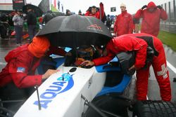 Neel Jani, driver of A1 Team Switzerland on the grid