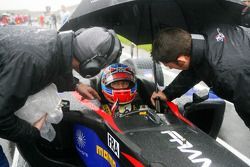 Loic Duval, driver of A1 Team France on the grid
