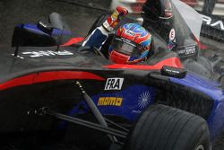 Loic Duval, driver of A1 Team France winner of the feature race