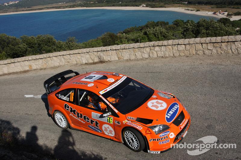 Хеннинг Сольберг и Като Менкеруд, Stobart VK M-Sport Ford World Rally Team, Ford Focus RS WRC