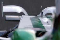 Honda Racing F1 Team détail de l'aileron