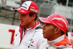 Adrian Sutil, Force India F1 Team, Lewis Hamilton, McLaren Mercedes
