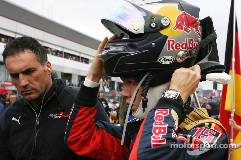 Sebastian Vettel en el GP de Japón 2008 (Toro Rosso)