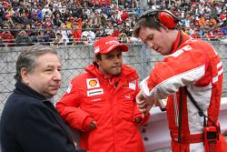 Jean Todt and Felipe Massa, Scuderia Ferrari