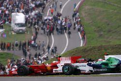 Felipe Massa, Scuderia Ferrari, Jenson Button, Honda Racing F1 Team