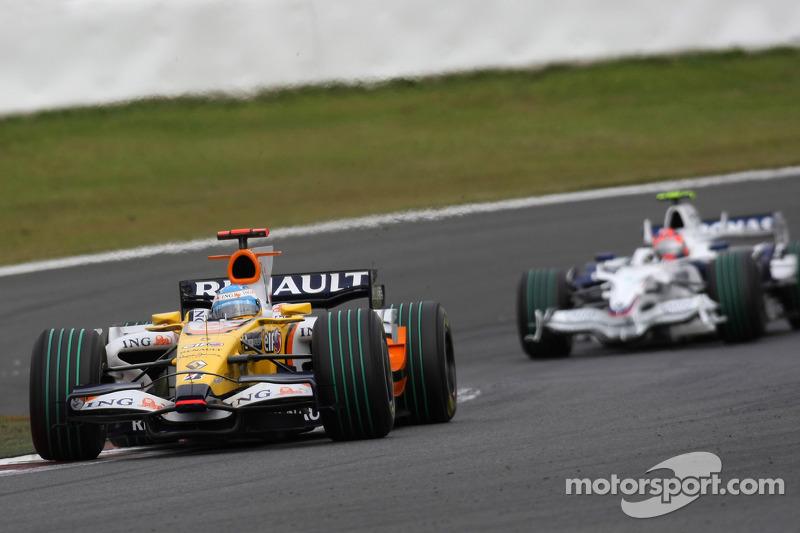 Fernando Alonso, Robert Kubica, Grand Prix Japonii 2008