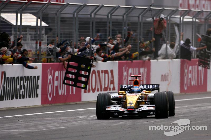 Fernando Alonso - 17 victorias con Renault