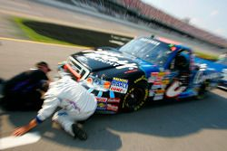 Colin Braun's crew prep the Conway Ford