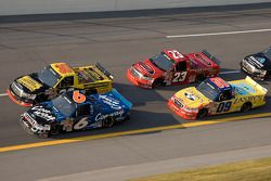 Colin Braun and Todd Bodine battle in turn four