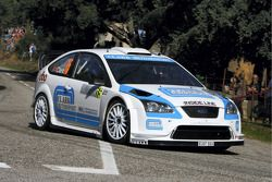 Barry Clark and Paul Nagle, Ford Focus RS WRC07, Stobart WK M-Sport Ford Rally Team