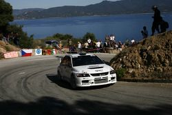Juho Hanninen and Mikko Markkula, Mitsubishi Lancer Evolution IX